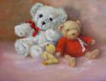 Bearly Three 12x16