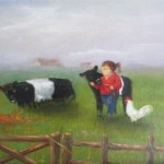 Belted Galloway Friends