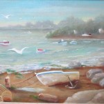 Maine Coast 12X16