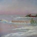 Winter Fishing 11X14