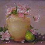 Pink Vase 12X16