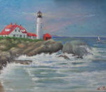 Portland Head Light 11x14