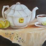 Tea Pot 11 X 14