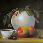 Crab Apples & Macintosh 12x16