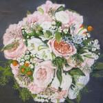 Wedding Bouquet 9x12
